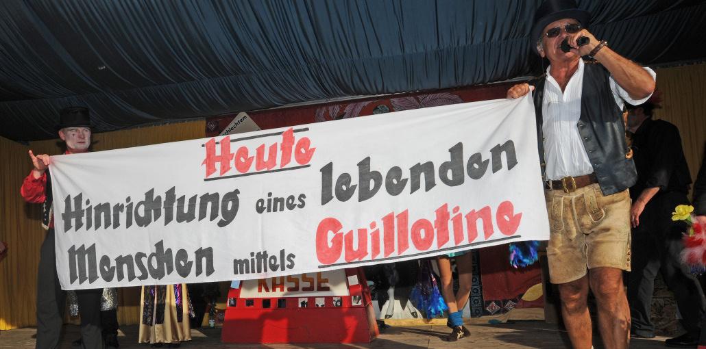 schichtl enthauptung guillotine